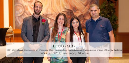 Participation des chercheurs du CES à la conférence internationale ECOS 2017