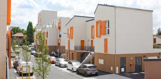 Projet EPSencity, quartier de Bobigny (93)